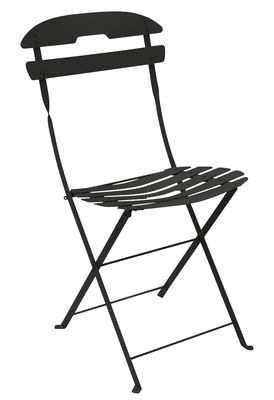 Möbel - Stühle  - La Môme Klappstuhl / Stahl - Fermob - Lakritze - bemalter Stahl