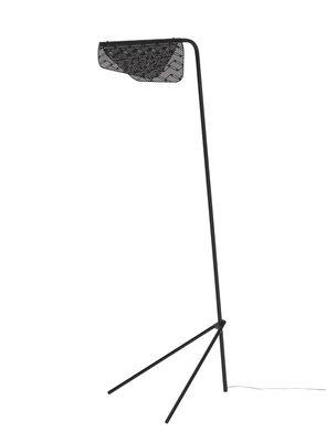 Luminaire - Lampadaires - Lampadaire Méditerranéa / LED - Métal perforé - Petite Friture - Noir - Laiton verni