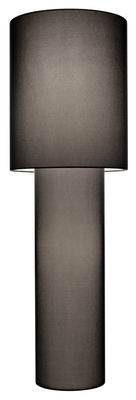 Lampadaire Pipe Mesh Grande / H 183 cm - Diesel with Foscarini noir en tissu