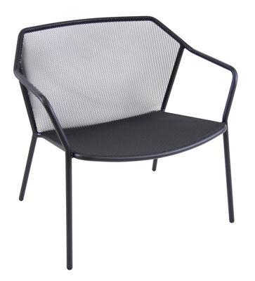 Darwin Lounge Sessel / Metall - Emu - Altes Eisen