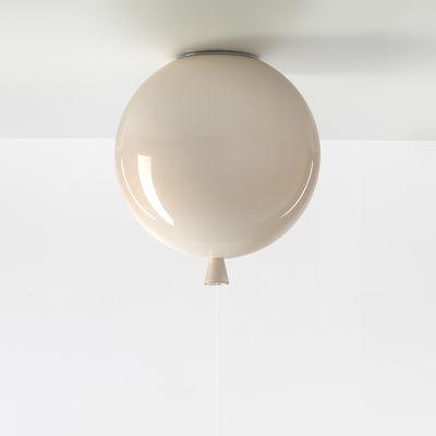 Image of Plafoniera Memory Medium - / Ø 30 cm - Vetro di Brokis - Rosa chiaro - Vetro