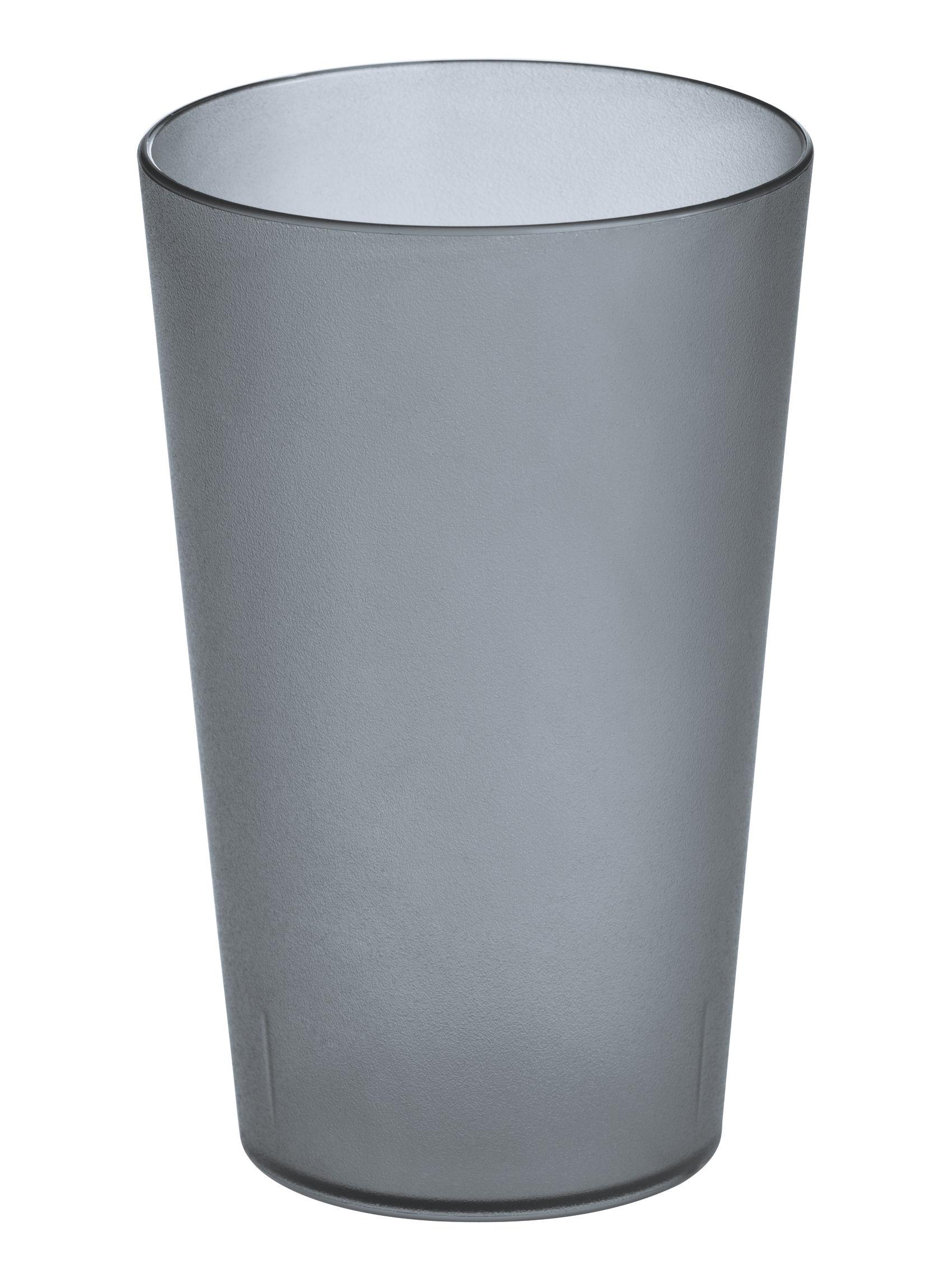 Déco - Salle de bains - Porte-brosse à dents Rio - Koziol - Anthracite transparent - Matière plastique