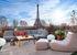 Pot de fleurs Toits de Paris / Terre cuite - Ø 30 x H 49 cm - Cinna