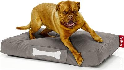 Pouf Doggielounge Stonewashed /Large - Fatboy L 120 cm x l 80 cm taupe en tissu