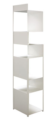 Furniture - Bookcases & Bookshelves - Tito Shelf by Zeus - White - Painted steel