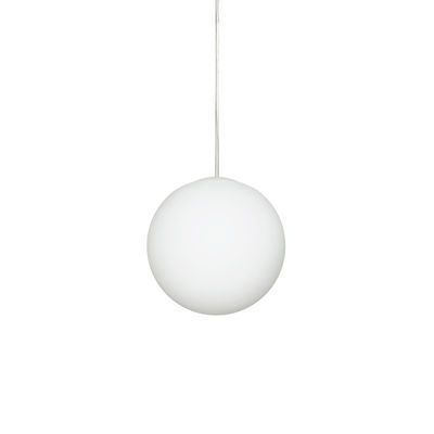 Suspension Luna / Ø 16 cm - Verre - Design House Stockholm blanc en verre