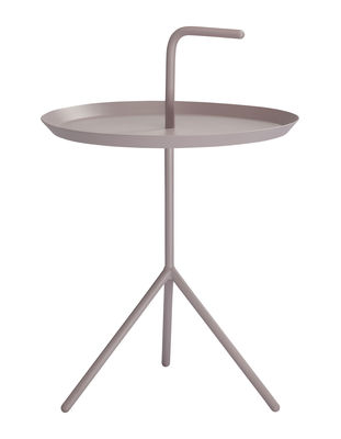 Table basse Don´t leave Me / Ø 38 x H 44 cm - Hay lavande en métal