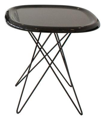 Table d'appoint Pizza H 46 cm - Magis marron en matière plastique