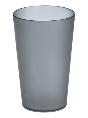 Decoration - For bathroom - Rio Toothbrush holder - Toothbrush Tumbler by Koziol - Transparent anthracite - Plastic material