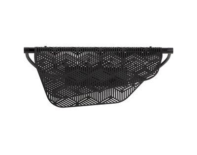 Applique Méditerranéa / LED - Métal perforé - Petite Friture noir en métal