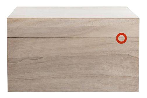 Déco - Boîtes déco - Boîte Balsabox A4 / Rextangulaire - 33 x 25 cm - Nomess - 33 x 25 cm / Bois clair - Bois de balsa