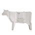 Buffet Sending animals Vache 2.0 / L 225 x H 151 cm - Seletti