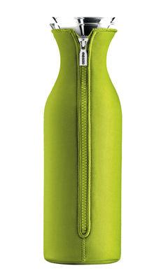 Arts de la table - Carafes et décanteurs - Carafe Stoppe-goutte 1,4 L / Tissu néoprène - Eva Solo - Vert citron - Néoprène, Verre