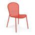 Ronda XS Chair - / L 51.5 cm - Metal by Emu