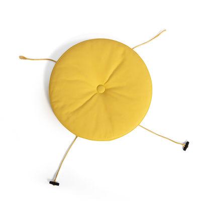 Coussin d'assise / Pour chaise & fauteuil Toní - Fatboy jaune soleil en tissu