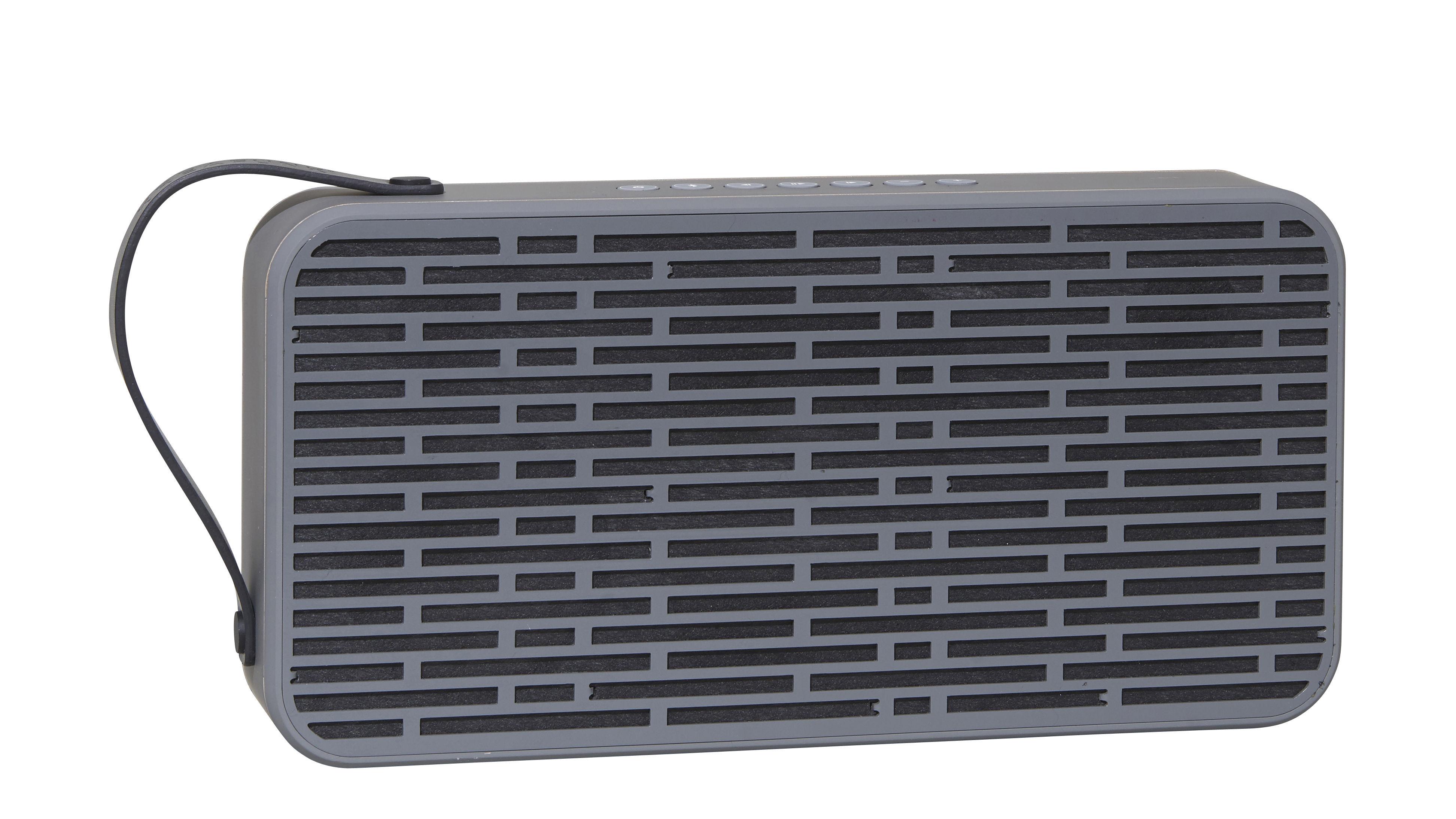 St-Valentin - Pour Lui - Enceinte Bluetooth aSound / Portable sans fil - Kreafunk - Gris foncé - Plastique