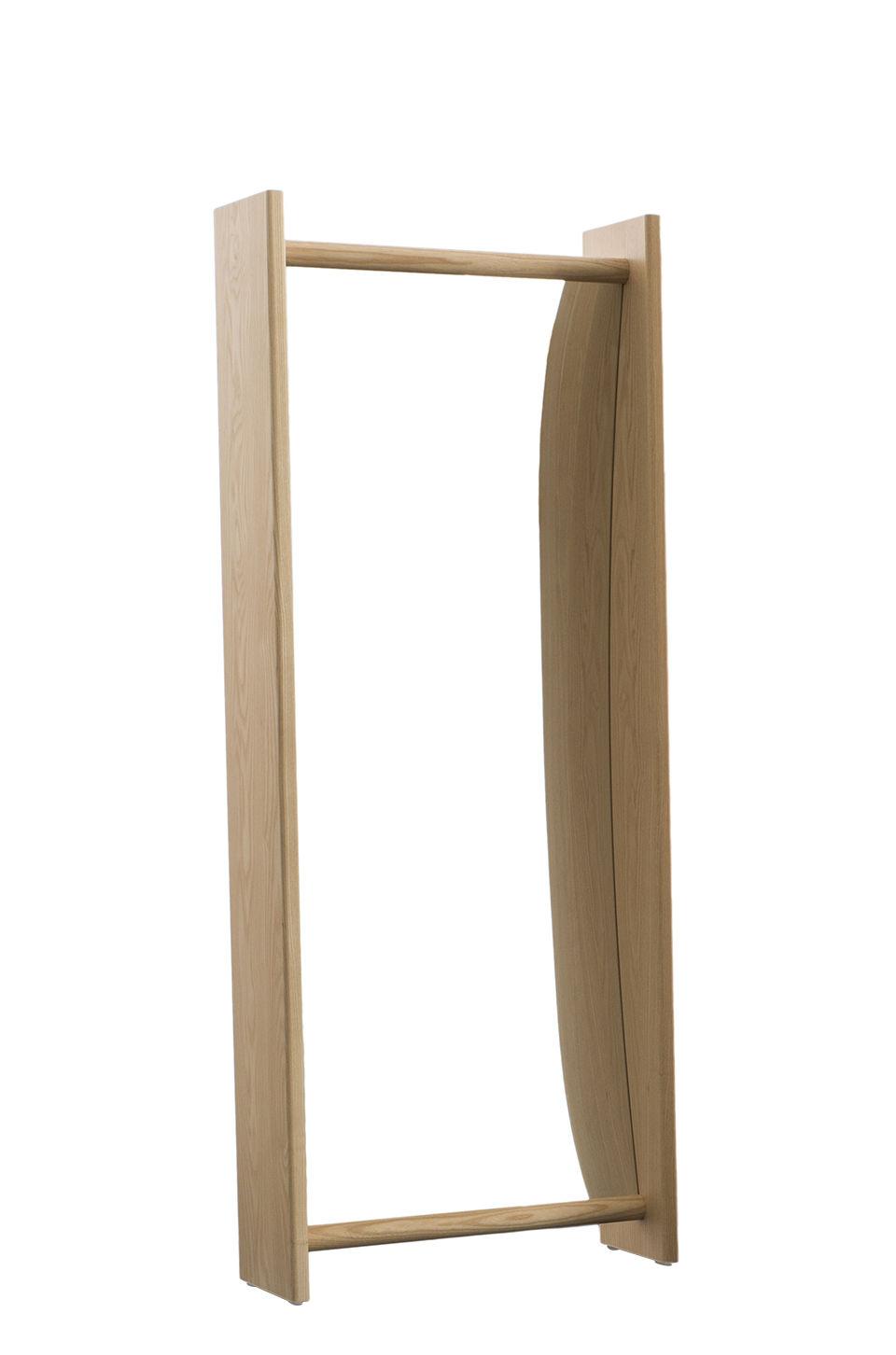 Mobilier - Mobilier Kids - Miroir à poser Little Big / Concave - L 52 x H 134 cm - Magis Collection Me Too - Frêne / Concave - Frêne massif, Verre