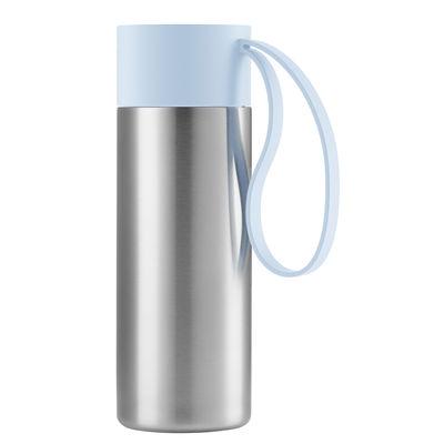 Mug isotherme To Go Cup / Avec couvercle - 0,35 L - Eva Solo bleu en métal