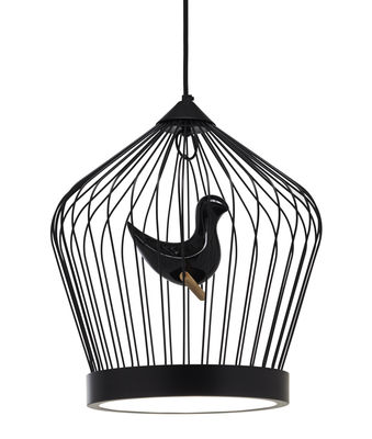 Lighting - Pendant Lighting - Twee T. Small Pendant by Casamania - Black - Ceramic, Painted metal