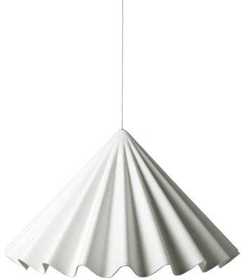 Dancing Pendelleuchte / Filz - Ø 95 cm - Menu - Gebrochen weiß