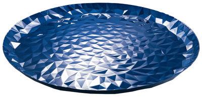 Plateau Joy N.3 / Ø 40 cm - Alessi bleu en métal
