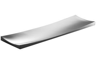 Plateau Ming / Centre de table - L 60 cm - Alessi métal brillant en métal