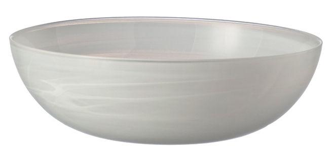 Tableware - Bowls - Alabastro Salad bowl by Leonardo - White - Glass