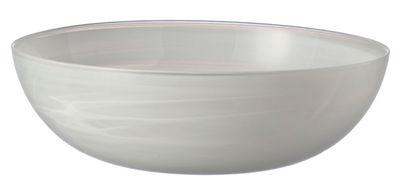 Tischkultur - Salatschüsseln und Schalen - Alabastro Salatschüssel / Ø 28 cm - Leonardo - Weiß - Glas