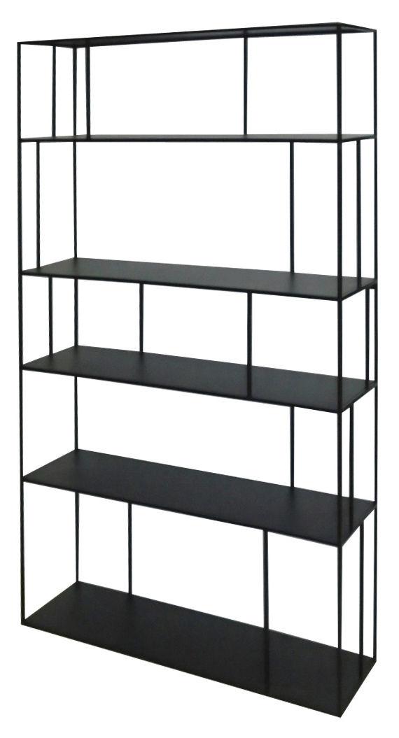 Metal Tall Double Shelf L 110 X H 180 Cm Pols Potten