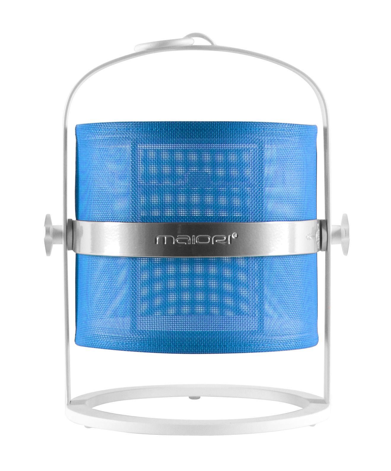 solarlampe la lampe petite led von maiori wei blau. Black Bedroom Furniture Sets. Home Design Ideas