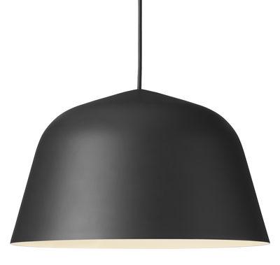 Suspension Ambit / Ø 40 cm - Muuto noir en métal/tissu