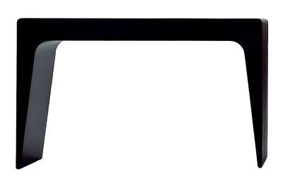 Table basse CU Large / Tabouret - L 65 cm - Kristalia noir en matière plastique