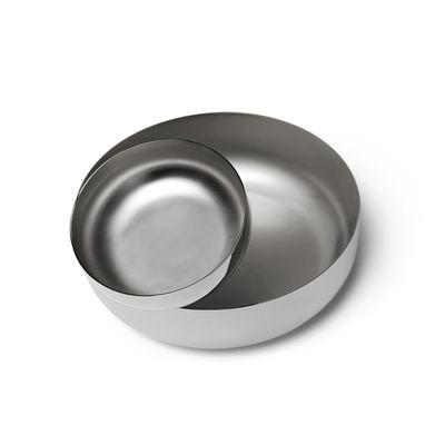 Tischkultur - Körbe, Fruchtkörbe und Tischgestecke - Balance Tischgesteck / Schlüsselschale - Limitierte Ausgabe - Opinion Ciatti - Verchromt - Stahl