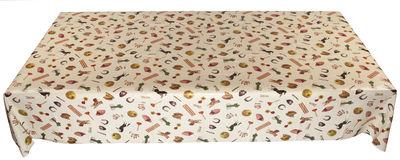 Tischkultur - Tischdecken und -servietten - Toiletpaper - Mix Wachstuch-Tischdecke / 210 x 140 cm - Seletti - Mix - Wachstuch