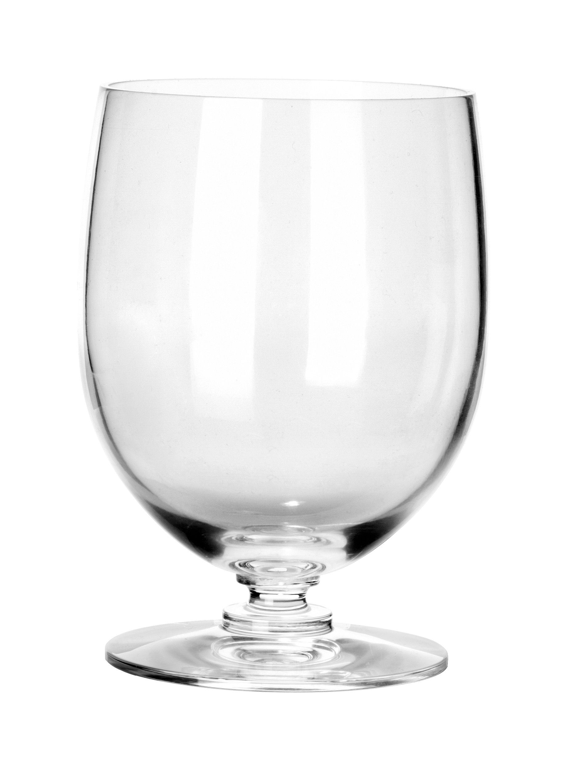 Tableware - Wine Glasses & Glassware - Dressed Water glass - Water tumbler by Alessi - Transparent crystal - Cristal