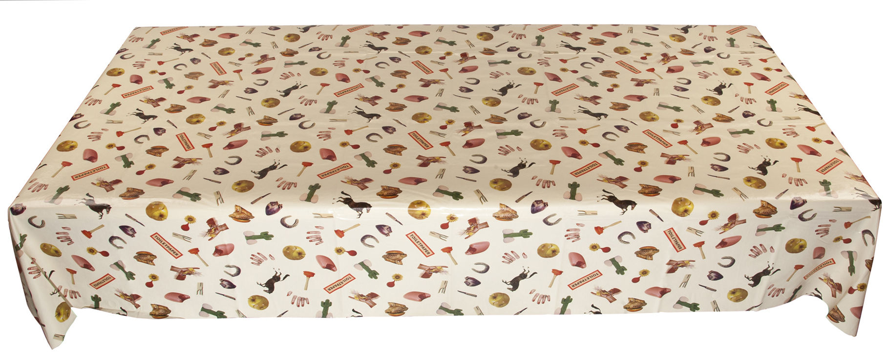 Tableware - Napkins & Tablecloths - Toiletpaper - Mix Waxed tablecloth by Seletti - Mix - Oilcloth