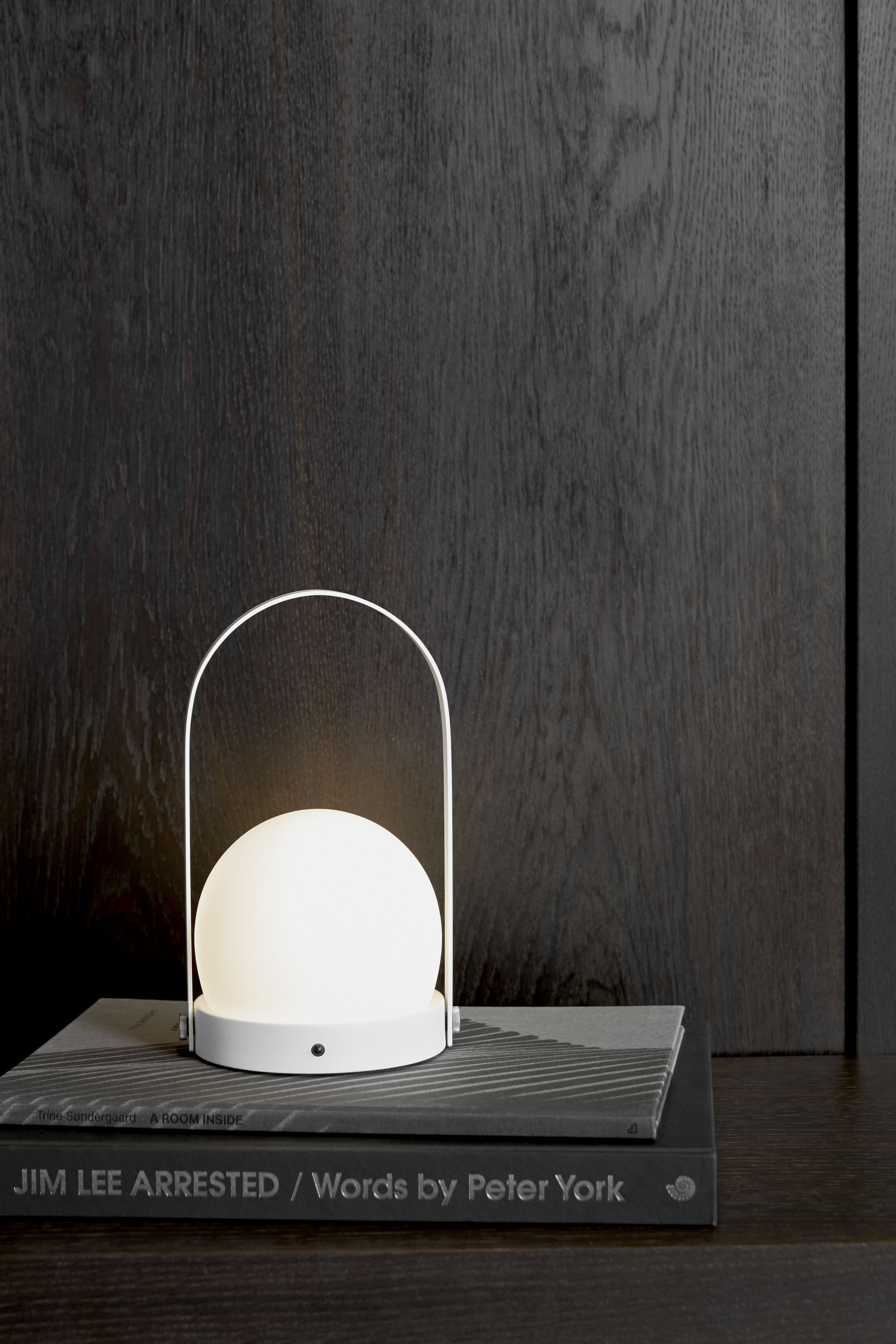 Wireless Lamp Carrie Led By Menu White Made In Design Uk