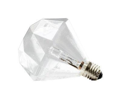 Noël design - Rock Vintage - Ampoule halogène E27 Diamond Light / 15W - Frama  - Transparent - Verre