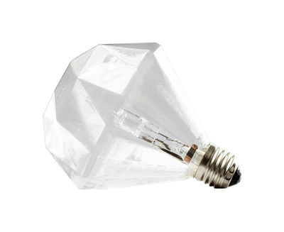Ampoule halogène E27 Diamond Light / 15W - Frama transparent en verre