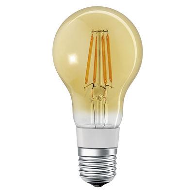 Illuminazione - Lampadine e Accessori - Lampadina LED E27 connessa - / Smart+ - Incandescenza Stardard 5,5W=45W di Ledvance - Oro - Vetro
