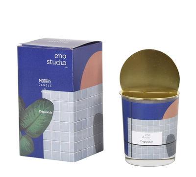 Bougie parfumée Morris - Crépuscule / Ambré - Couvercle laiton - ENOstudio multicolore,laiton en métal
