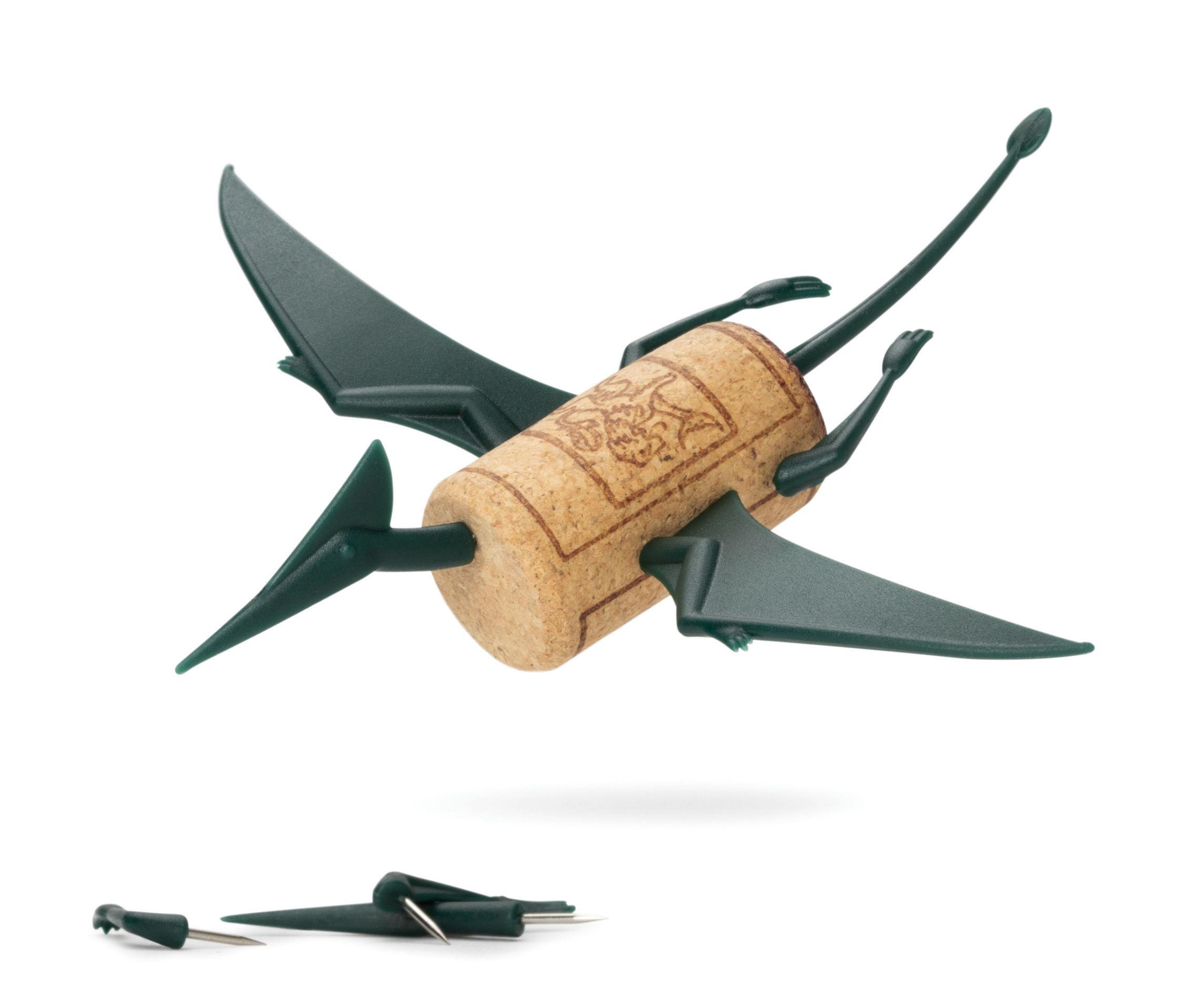 Déco - Pour les enfants - Décoration Corkers Dinosaures / Pour bouchon en liège - Pa Design - Storm / Vert foncé - Polycarbonate