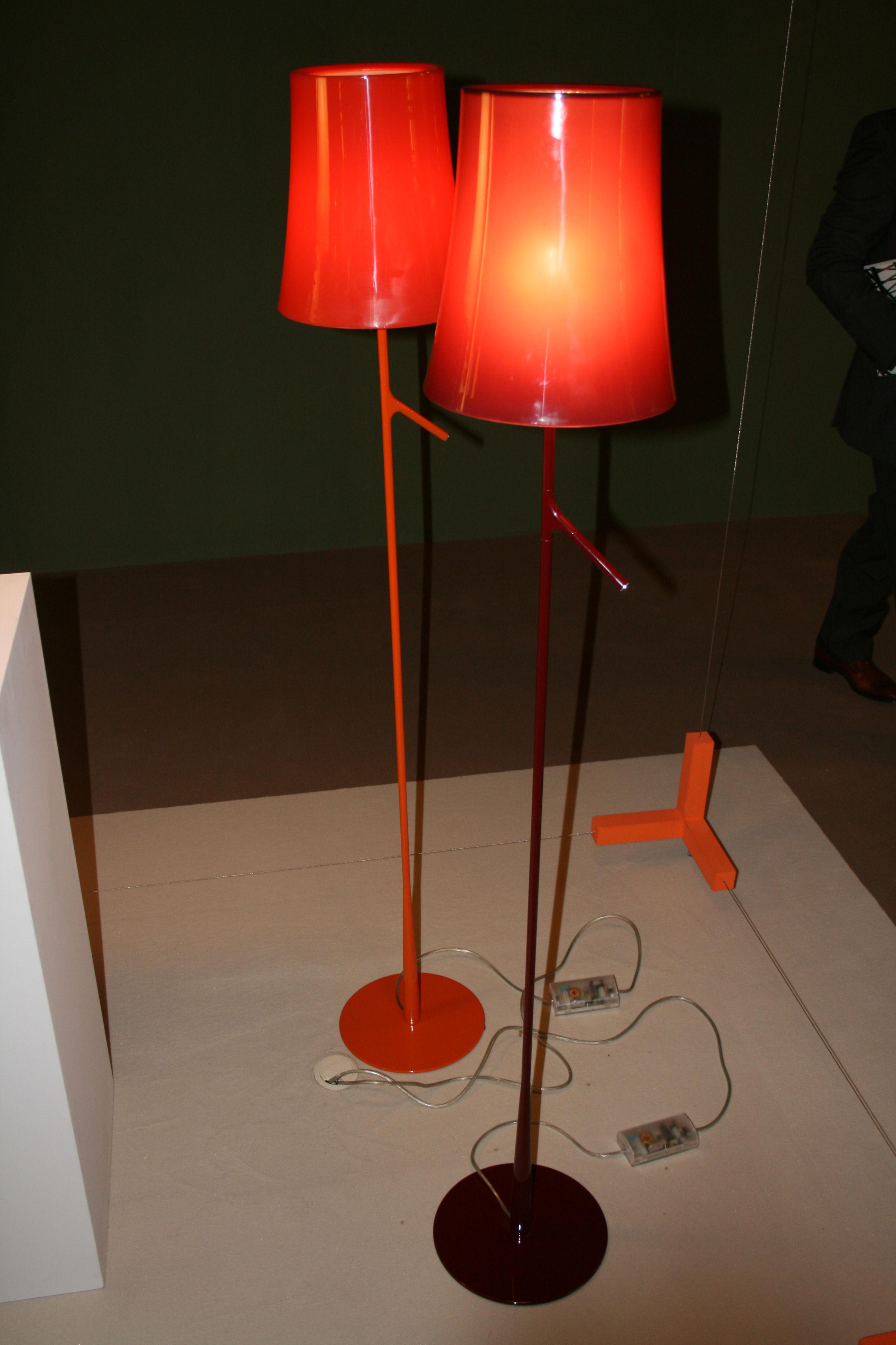 Floor Lamp Birdie By Foscarini Grey Made In Design Uk