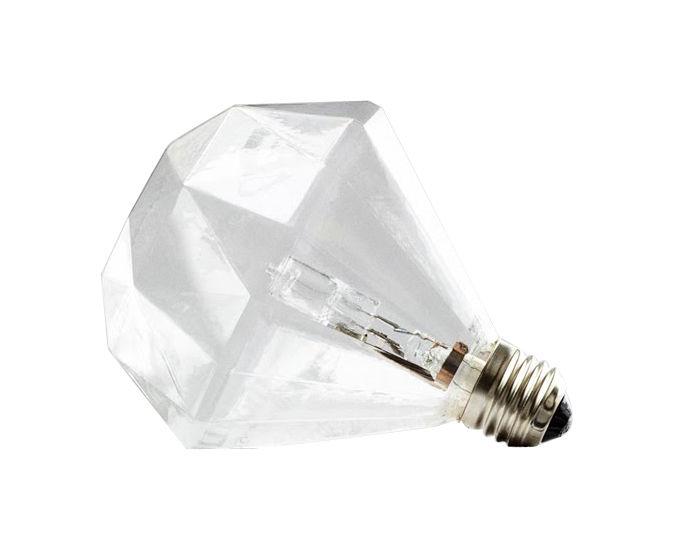 Christmas - Vintage - Diamond Light Bulb by Frama - Pop Corn - Clear - Glass