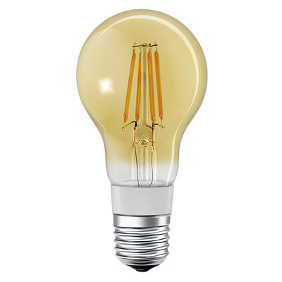 Image of Lampadina LED E27 connessa - / Smart+ - Incandescenza Stardard 5,5W=45W di Ledvance - Oro - Vetro