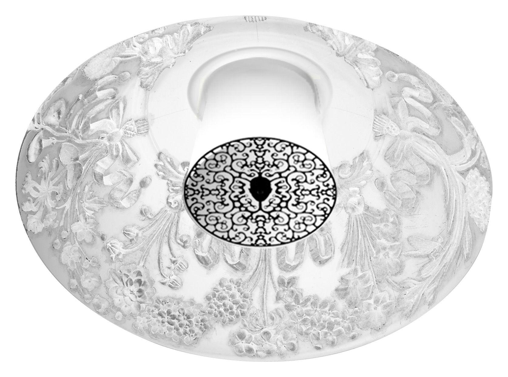 Illuminazione - Plafoniere - Plafoniera Skygarden - incastato di Flos - Bianco - Alluminio, Gesso