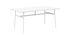 Scrivania Union - / 160 x 90 cm - Laminato Fenix di Normann Copenhagen