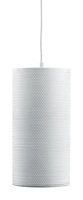 Image of Sospensione Pedrera H2O - Ø 13 x H 26 cm di Gubi - Bianco - Metallo