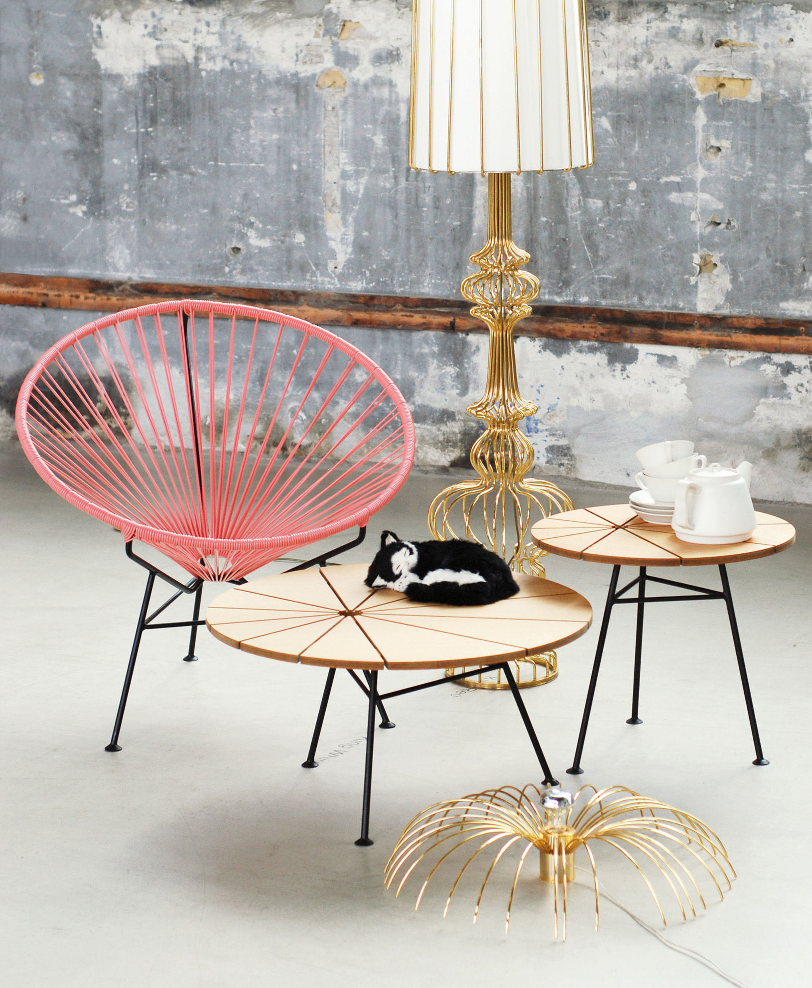 Table basse bam bam ok design pour sentou edition ch ne naturel h 44 x 50 made in design - Sentou table basse ...