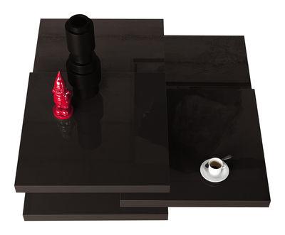 Table basse Rotor - Kristalia noir en bois